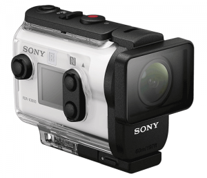 Sony FDRX3000 in case