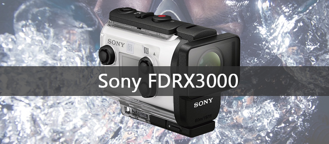 Sony FDRX3000 Action Cam